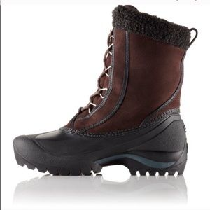 Sorel Brown Suede Cumberland Lea Insulated Boots